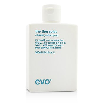 Evo The Therapist Calming Shampoo (For Dry, Frizzy, Colour-Treated Hair)