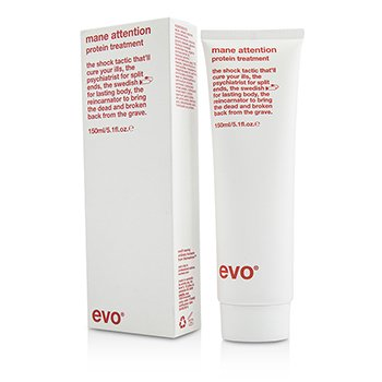 Evo Mane Attention Protein Treatment (For Colour-Treated, Weak, Brittle Hair)