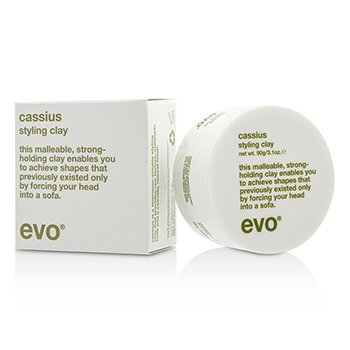 Evo Cassius Cushy Clay (For All Hair Types, Especially Thick, Coarse Hair)