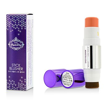 Ottie Purple Dew Stick Blusher - #02 Sweet Peach