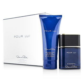 Oscar De La Renta Pour Lui Coffret: Eau De Toilette Spray 90ml + Hair & Body Wash 200ml