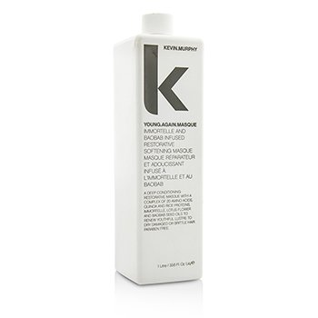 Young.Again.Masque (Immortelle and Baobab Infused Restorative Softening Masque - To Dry Damaged or Brittle Hair)
