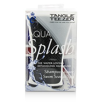 Tangle Teezer Aqua Splash Detangling Shower Brush - # Black Pearl (For Wet Hair)