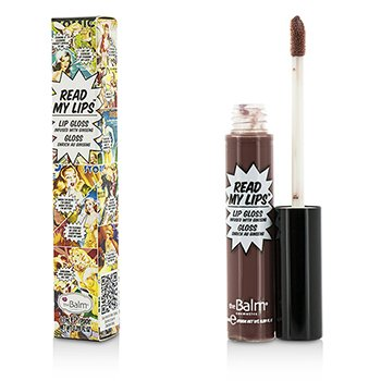 TheBalm Read My Lips (Lip Gloss Infused With Ginseng) - #Grrr!