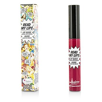 TheBalm Read My Lips (Lip Gloss Infused With Ginseng) - #Hubba Hubba!