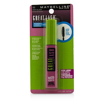Maybelline Great Lash Waterproof Mascara - #111 Very Black
