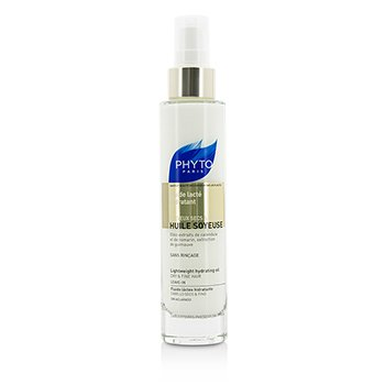 Phyto Phyto Huile Soyeuse Lightweight Hydrating Oil - Leave In (For Dry & Fine Hair)