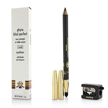 Sisley Phyto Khol Perfect Eyeliner (With Blender and Sharpener) - #3 Steel