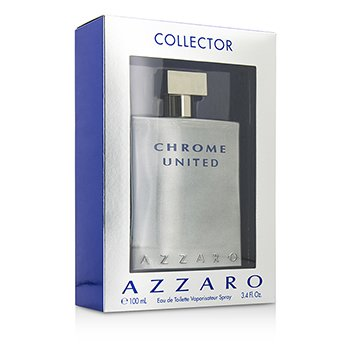 Loris Azzaro Chrome United Eau De Toilette Spray (Collector Edition)