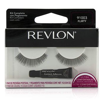 Revlon False Eyelashs (Adhesive Included) - Flirty