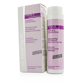 J. F. Lazartigue Ultra-Shine Orchid-Scented Shampoo - Paraben Free (Normal & Combination)