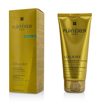 Rene Furterer Sun Care Nourishing Repair Shampoo with Jojoba Wax - After Sun