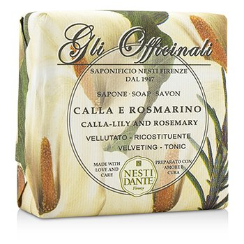 Nesti Dante Gli Officinali Soap - Calla-Lily & Rosemary - Velveting & Tonic