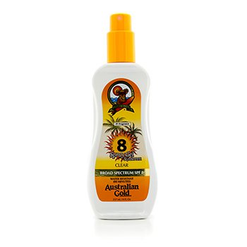 Australian Gold Spray Gel Sunscreen Broad Spectrum SPF 8