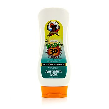 Australian Gold Lotion Sunscreen Broad Spectrum SPF 30 - For Kids