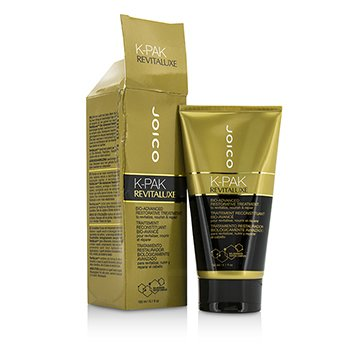 Joico K-Pak RevitaLuxe Bio-Advanced Restorative Treatment - To Revitalize, Nourish & Repair (Box Slightly Damaged)