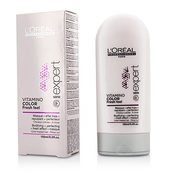LOreal Professionnel Expert Serie - Vitamino Color Fresh Feel Bodifying + Perfecting <Fresh Effect> Masque - Rinse Out