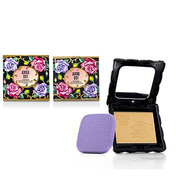 Anna Sui Powder Foundation SPF 20 (Case & Refill) - # 202