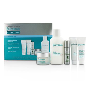 Essentials Kit (Sensitive/ Dry): Cleansing Creme + Eye Complex + Day Creme + Restorative Creme + Antioxidant Serum