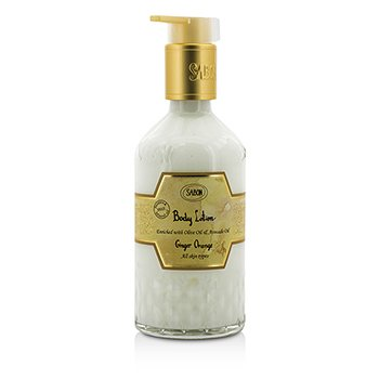 Sabon Body Lotion - Ginger Orange (With Pump)