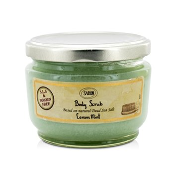 Sabon Body Scrub - Lemon Mint