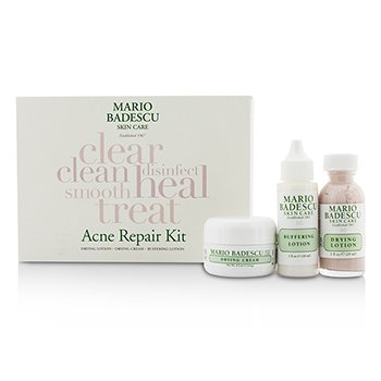 Acne Repair Kit: Drying Lotion 29ml + Drying Cream 14g + Buffering Lotion 29ml