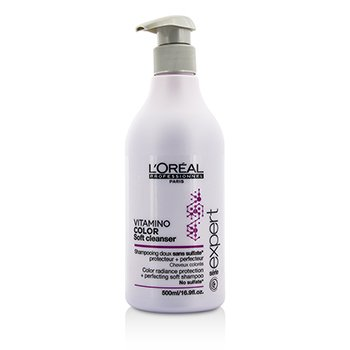 LOreal Professionnel Expert Serie - Vitamino Color Soft Cleanser Color Radiance Protection + Perfecting Soft Shampoo