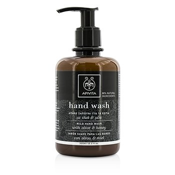 Apivita Mild Hand Wash With Olive & Honey