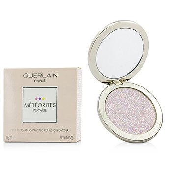 Guerlain Meteorites Voyage Exceptional Compacted Pearls Of Powder Refillable - # 01 Mythic