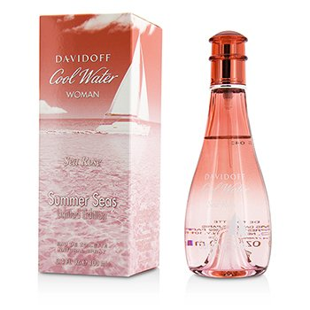 Davidoff Cool Water Sea Rose Summer Seas Eau De Toilette Spray (Limited Edition)