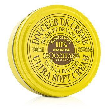 LOccitane Shea Butter Ultra Soft Cream - Vanilla Bouquet
