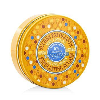 LOccitane Shea Melting Honey Exfoliating Sugars