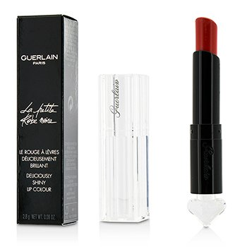 Guerlain La Petite Robe Noire Deliciously Shiny Lip Colour - #020 Poppy Cap