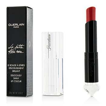 Guerlain La Petite Robe Noire Deliciously Shiny Lip Colour - #041 Sun-Twin-Set