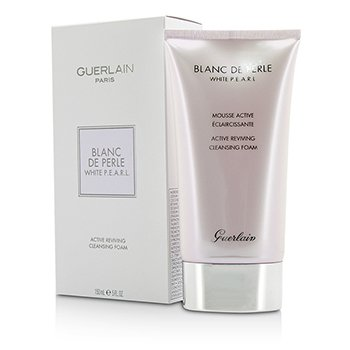 Guerlain Blanc De Perle White P.E.A.R.L. Active Reviving Cleansing Foam