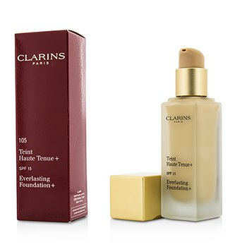 Clarins Everlasting Foundation+ SPF15 - # 105 Nude