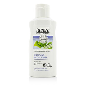 Lavera Organic Ginkgo & Grape Purifying Facial Toner (For Combination & Blemished Skin)
