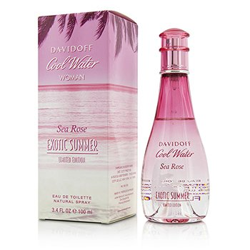 Cool Water Sea Rose Exotic Summer Eau De Toilette Spray (Limited Edition)