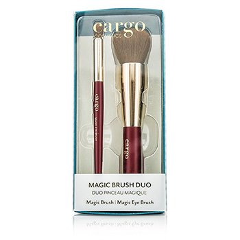 Cargo Magic Brush Duo: 1x Magic Brush, 1x Magic Eye Brush