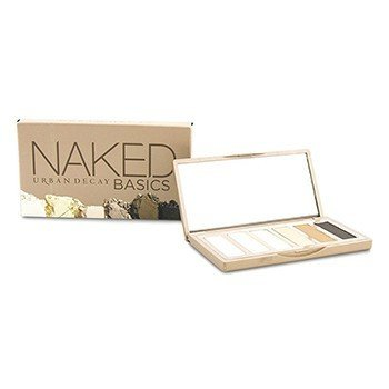 Naked Basics Eyeshadow Palette: 6x Eyeshadow (Crave, Faint, Foxy, Naked2, Venus, Walk of Shame)