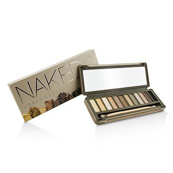 Naked 2 Eyeshadow Palette: 12x Eyeshadow, 1x Doubled Ended Shadow Blending Brush
