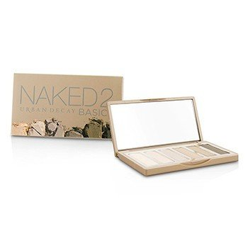 Urban Decay Naked 2 Basics Eyeshadow Palette: 6x Eyeshadow (Cover, Frisk, Primal, Skimp, Stark, Undone)