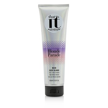AlfaParf Thats It Blonde Parade Mask (For Every Blonde)