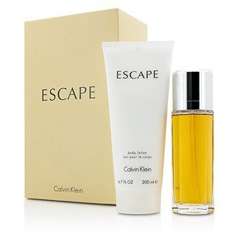 Calvin Klein Escape Coffret: Eau De Parfum Spray 100ml + Body Lotion 200ml