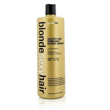 Sexy Hair Concepts Blonde Sexy Hair Sulfate-Free Bombshell Blonde Shampoo (Daily Color Preserving)