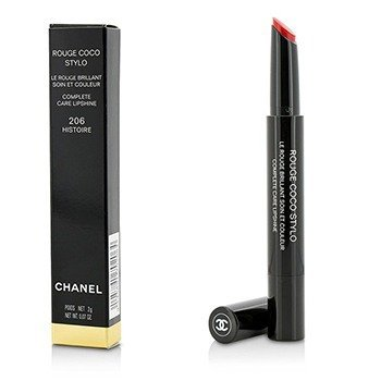 Chanel Rouge Coco Stylo Complete Care Lipshine - # 206 Histoire