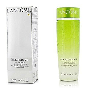 Lancôme Energie De Vie Smoothing & Plumping Pearly Lotion - For All Skin Types, Even Sensitive (Made in Japan)