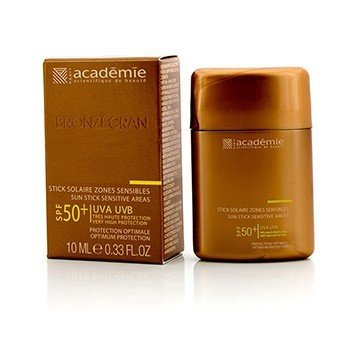 Académie Bronzecran Sun Stick Sensitive Areas SPF 50+ - For Sensitive & Highly Exposed Areas