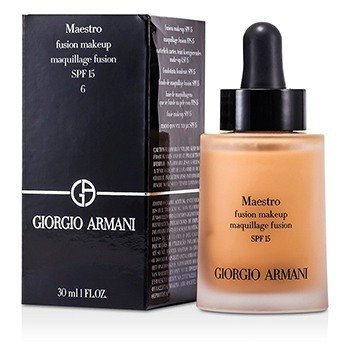 Giorgio Armani Maestro Fusion Make Up Foundation SPF 15 - # 6