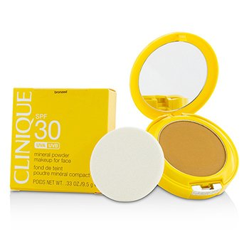 Clinique Sun SPF 30 Mineral Powder Makeup For Face - Bronzed
